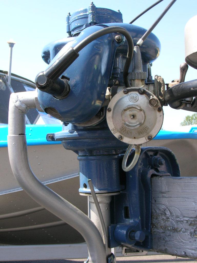 лодка с мотором от культиватора