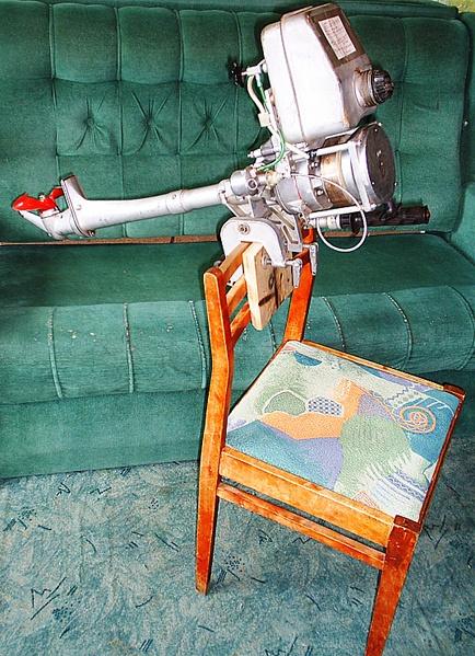 советский лодочный мотор салют