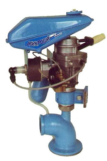 Водометный мотор для лодки