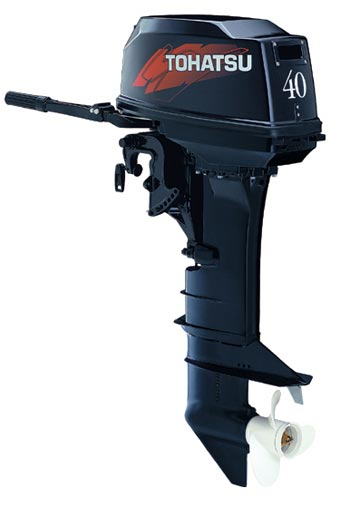 лодочный мотор tohatsu m40ceps