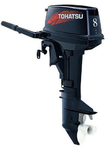 мотор лодочный tohatsu 50