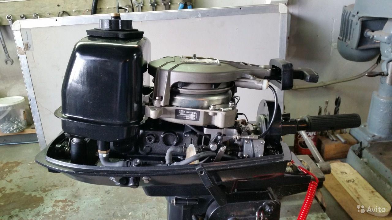 лодочный мотор titanium