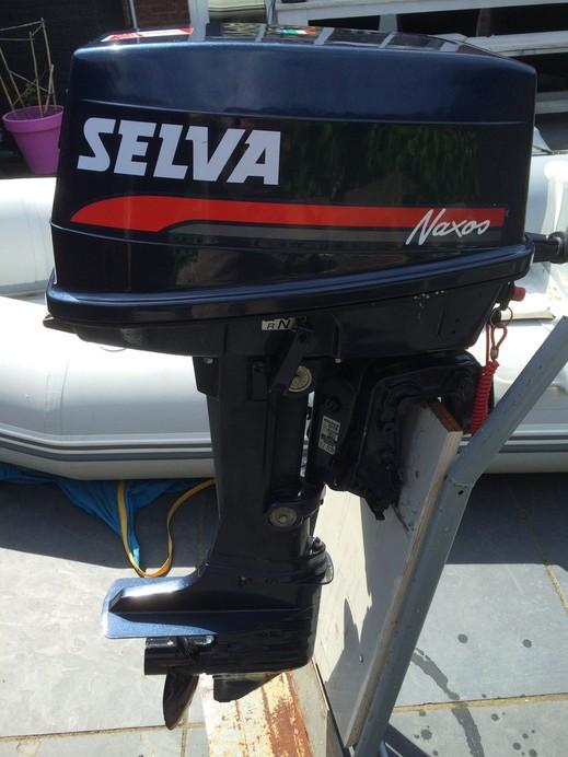 лодочный мотор selva wahoo 2000