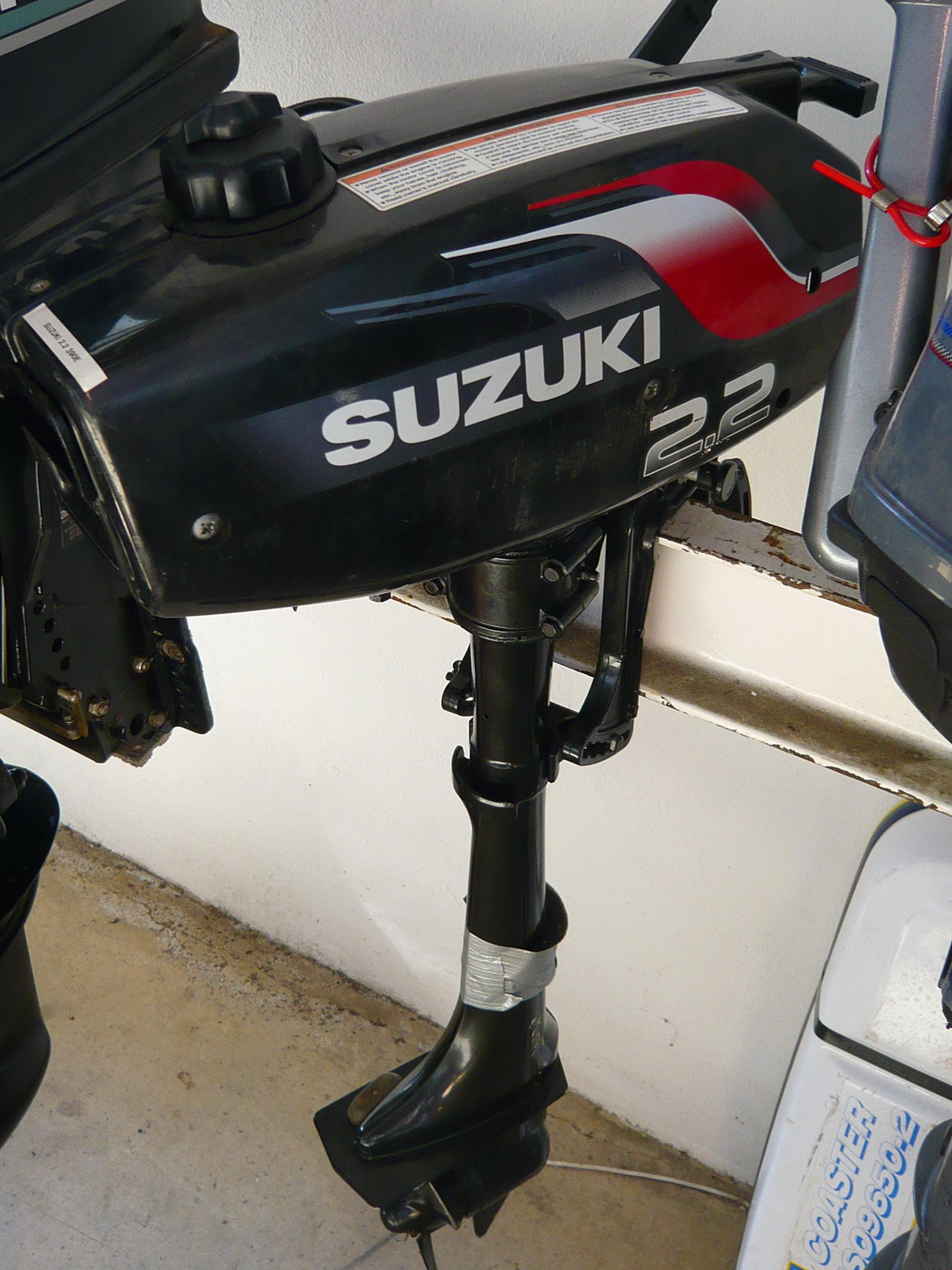 Сравниваем Tohatsu MFS 2.5 и Suzuki DF 2.5