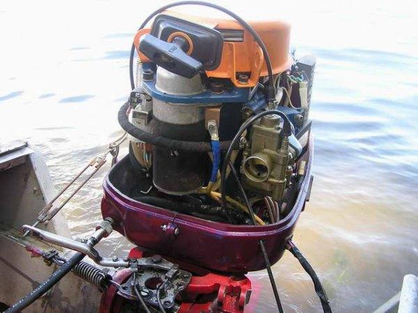 лодка мотор сич 40