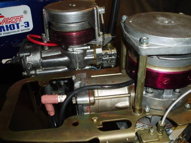 Лодочные моторы салют ттх