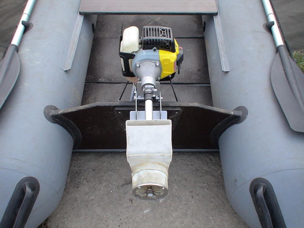 сверхлегкий подвесной водометный лодочный мотор