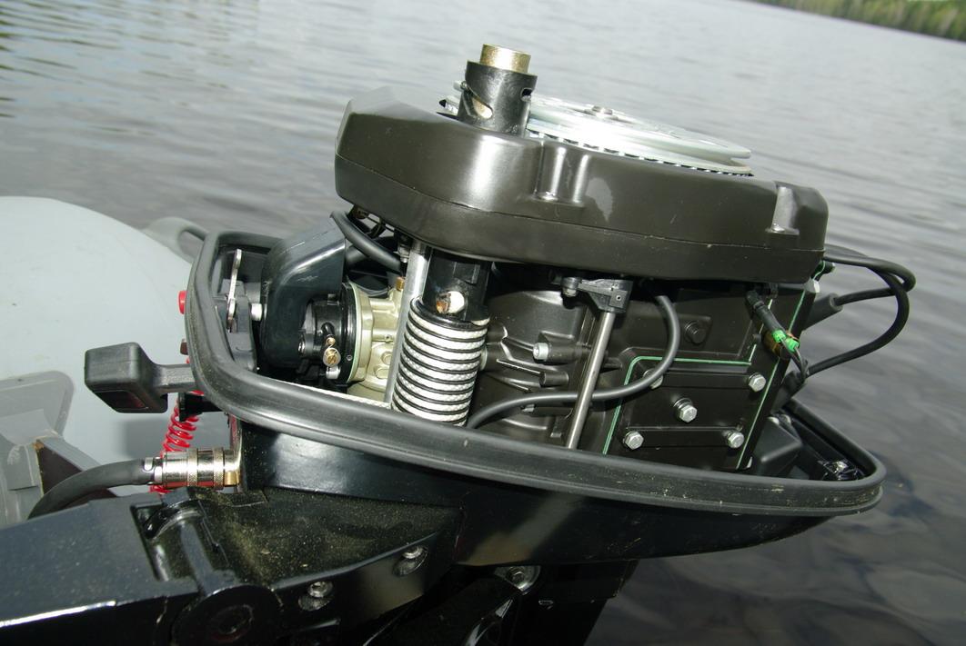 Китайские лодочные моторы ремонт