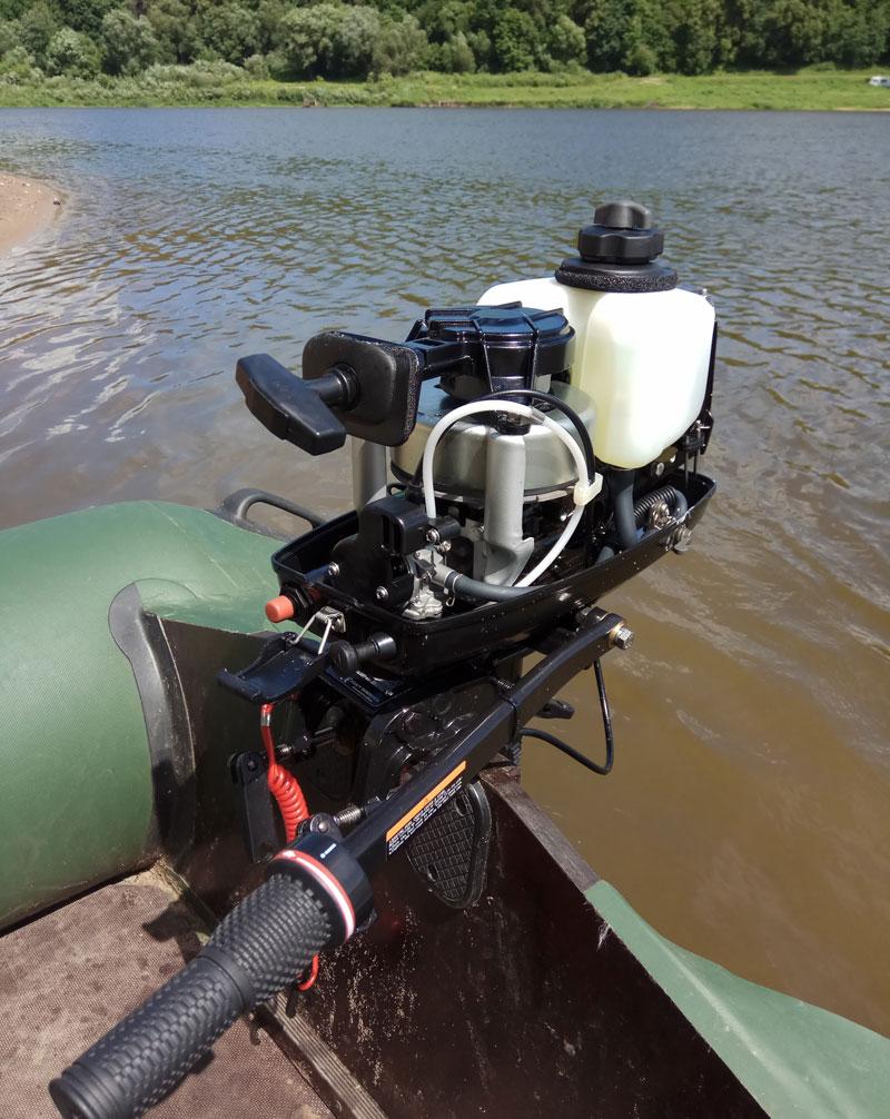 Лодка FLINC и мотор HDX T2.6